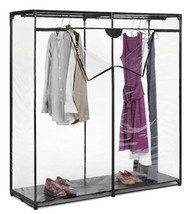 Whitmor Garment Hanging Rack Portable Closet Wa... - $51.45