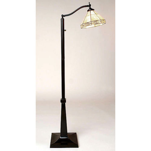 elegant tiffany style reading floor lamp mission light. Black Bedroom Furniture Sets. Home Design Ideas