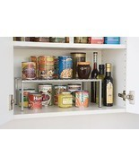 Expandable Kitchen Counter And Cabinet Shelf Storage Organizer Seville C... - $19.77