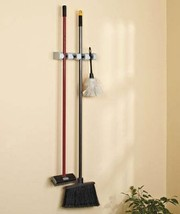 4 Slot Wall Organizer For Hanging Brooms And Mo... - $12.85