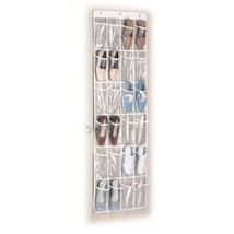 Over Door Shoe Organizer 24 Pocket Hanging Closet - $16.93