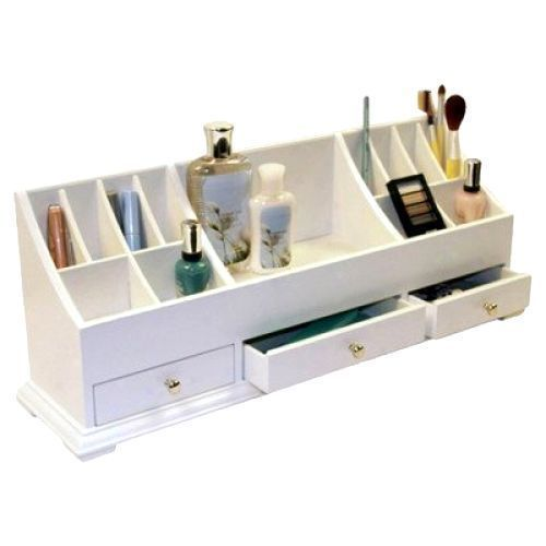 Cosmetic Bathroom Storage Make-up Organizer Box Case