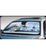 Star Wars Battle of Hoth Scene Car Auto Windshield Sun Shade Sunshade Sc... - $24.95