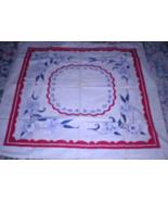Tablecloth (43 X 41) Linen Tablecloth - $20.00