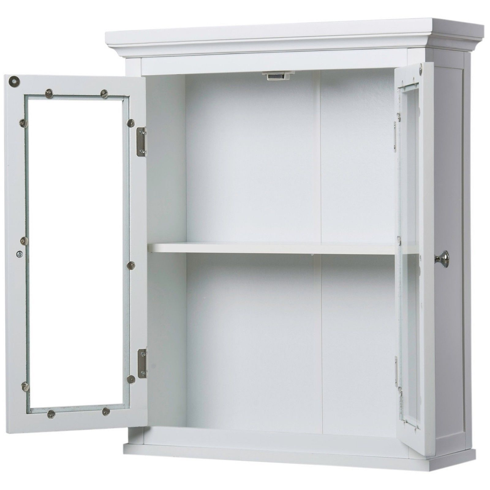 classique white wall cabinet with two doors white bathroom medicine