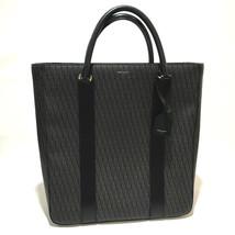 AUTHENTIC SAINT LAURENT PARIS with Strap Tote Hand Bag Black x Brown - $991.08 CAD