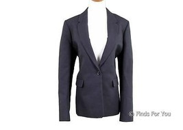 J Crew Collection Rylan Blazer in Black Sz 12 Style 05843 $350 New - $98.99