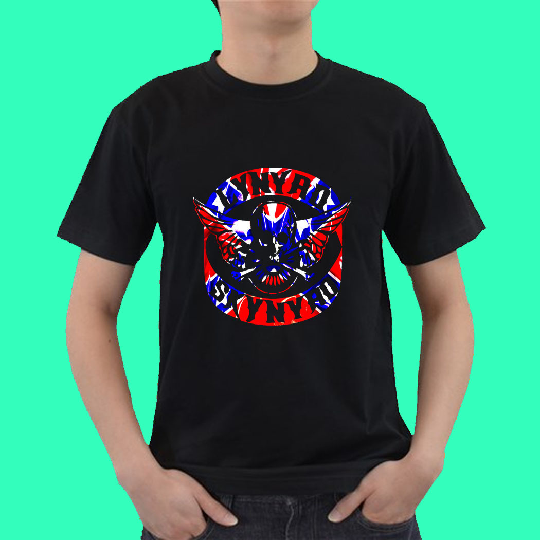 Lynyrd skynyrd band live concert tour 2015 sep5 tee t for Xxl band t shirts