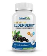 Natural Cure Labs Elderberry Immune Complex, 60 Capsules - $15.95