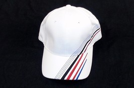 Baseball / Golf Cap ~ 6 Panel 100% Cotton ~ Embroidered Accent Stripes #... - $9.75