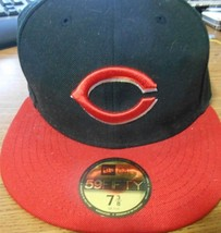 New Era Chicago Cubs On-Field Fitted Cap Hat Baseball MLB Size 7 3/8  - ₹2,806.57 INR