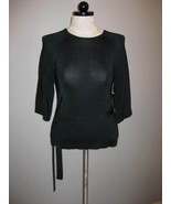 Jones New York Classy Knit Top With Tie At Waist Size PP - $26.00