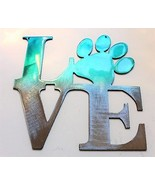 """LOVE My Pet  Teal Tainted Home Wall Decor 6"""" x 6"""" - $10.99"""