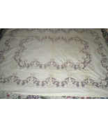 Tablecloth (56 X 48) Linen Tablecloth  - $20.00