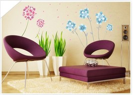 Butterfly Floral Flowers Nature Nursery Garden ... - $4.95