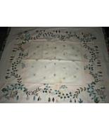 Tablecloth (51 x 47) Linen Tablecloth  - $19.00