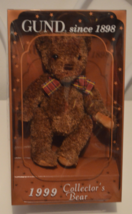 Gund 1999 Collector's Bear Gundy - $12.95