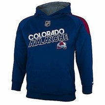 Reebok Colorado Avalanche Performance Hoodie Sweatshirt Nwt Youth 8 Or 14/16 - $20.46