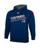 REEBOK COLORADO AVALANCHE Performance Hoodie Sweatshirt NWT Youth 8 or 14/16 - $20.37