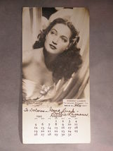 "Autographed Photo Of Paramount Picture's ""Dorothy Lamour"" -  (sku#1911) - $29.99"