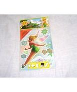 Disney Fairies TINKER BELL Peel & Stick GRAFFIX Reusable! NEW! 2009 - $4.99