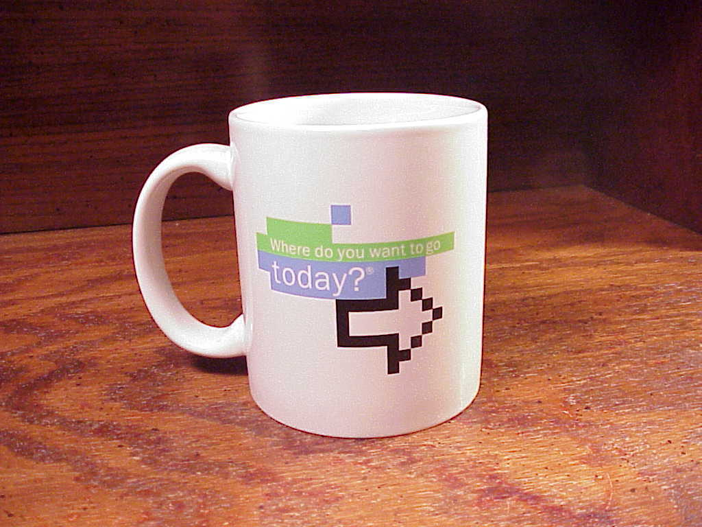 Microsoft today mug  1