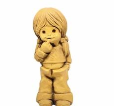 Fannykins Bill Mack sculpture figurine St Paul MN vtg Oopsy girl pigtail... - $48.15