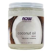 NOW Foods Coconut Oil 100% Natural, 7 Ounces - $13.45