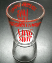 Southern Comfort Shot Glass Long Shot Plastic with Red Print Bottom Bottle Cap - $6.99