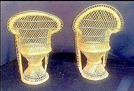 Wicker Chairs for Dolls AB 555 2 – Vintage  - $59.95