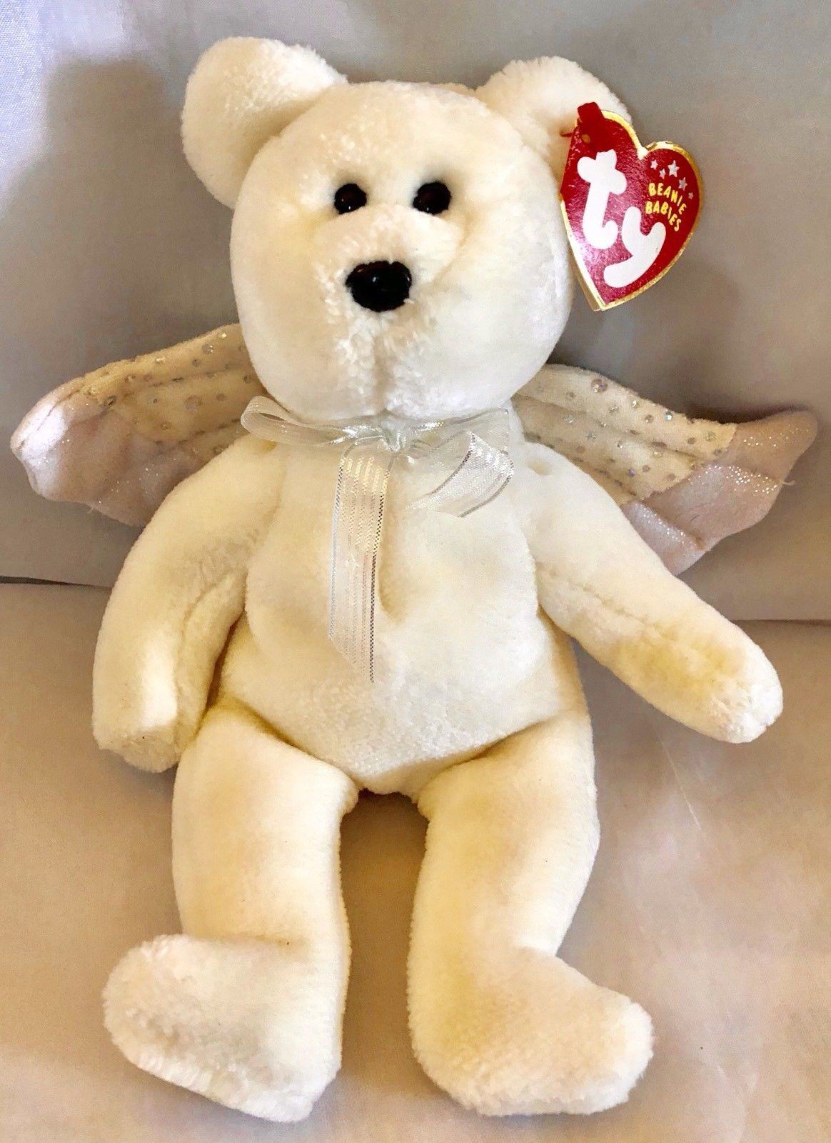 """199a787f93b 9"""" Ty Beanie Baby Herald The White Angel and 23 similar items"""