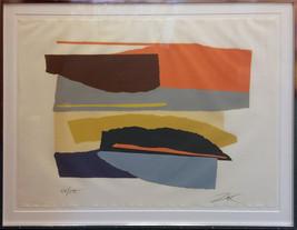 "Larry Zox ""Niagara Series"" 1973 - S/N Linocut - Retail $2.5K - COA - See... - $1,100.00"