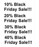 10% 20% 30% 40% Black Friday Sale-Download-ClipArt-ArtClip-Digital - $4.00