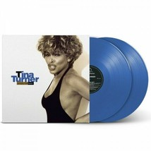 Tina Turner ‎– Simply The Best Exclusive Limited Edition Blue Color 2x V... - $65.99