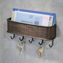 Mail and Key Rack Wall Mount, - $24.91
