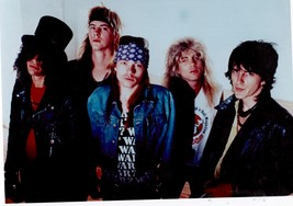 Guns N' Roses Axl Rose Vintage 8X10 Color MusicMemorabilia Photo - $5.99