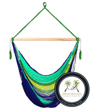 Caribe Hammock Chair - 100% Handwoven - Perfect for one child, teen, or ... - $99.95