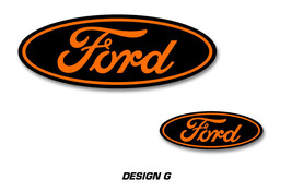 Ford Oval Logo Decal 2PK Set for F150 F-150 RAPTOR Sticker Overlay 09-16... - $19.75