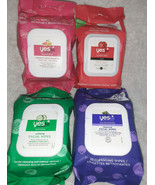 4 Pack of Yes To  Facial Wipe Variety Pack 30 Ct Each See Description fo... - $19.75