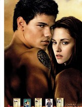 Taylor Lautner teen magazine pinup clipping Shirtless Twilight Nice Tan Tatoo