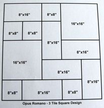 3 TILE MOLDS MAKE 100s OF 12x18 TILES @ $0.35 SQ. FT. FOR CONCRETE FLOORS WALLS image 5