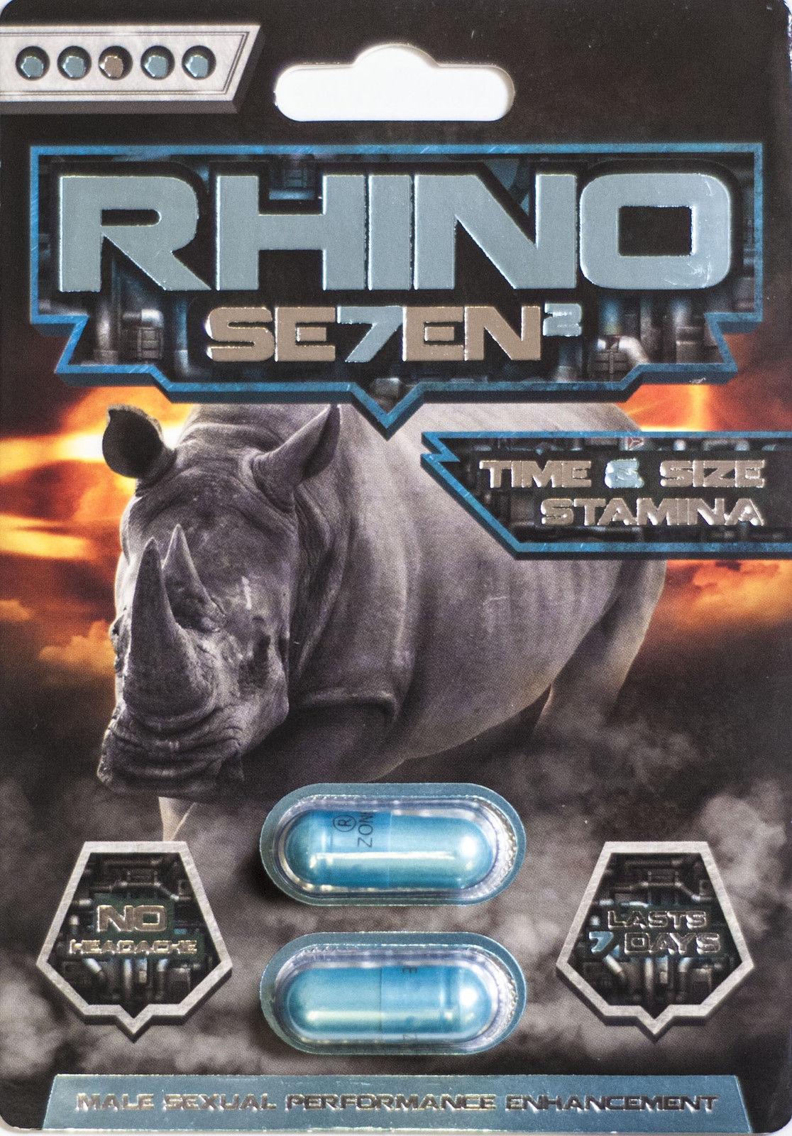 Rhino 7 Platinum 3000 Male Sexual Performance Enhancer ...