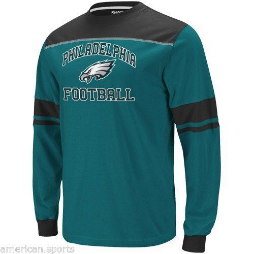 Philadelphia Eagles BOYS GIRLS NFL SMALL  Long Sleeve Jersey Shirt SIZE 4
