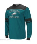 Philadelphia Eagles BOYS GIRLS NFL SMALL  Long Sleeve Jersey Shirt SIZE 4 - £14.42 GBP