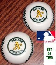 Official MLB BASEBALL Licensed Magnet ** Oakland A's ***  SET OF 2 OLD S... - $6.81