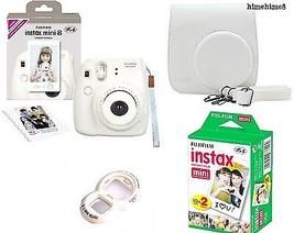 Instax Mini 8 Camera Complete set Instant Camera + 20 Film+ Case + Lens ... - $155.43