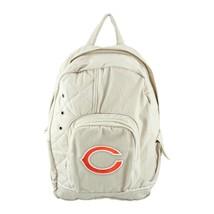 Chicago Bears Football Tan Boys Girls NFL Classic Canvas Backpack freeSh... - ₹2,274.16 INR