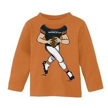 Cincinnati Bengals Shirt Football FREE SHIP L/S Top NWT Boys 12 Months NEW - $11.87