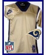 ST LOUIS RAMS NFL SALE JERSEY REEBOK FOOTBALL YOUTH BOYS GIRLS NFL NEW LARGE - $18.47