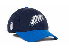 Oklahoma City Thunder Mens Free Ship Sale Official On Court Adidas Hat Cap New - $18.69